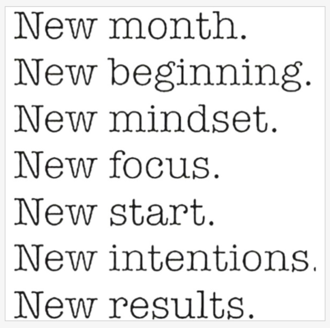 New Month